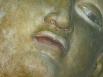 Buddha-Gesicht